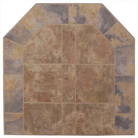 Graysen Woods Bruno/Grigio Two Tone Wall Pad