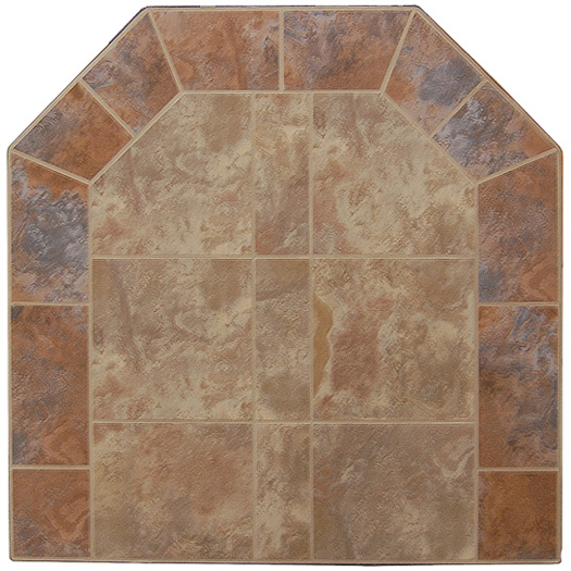 Graysen Woods Bruno/Rosso Two Tone Wall Pad