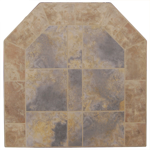 Graysen Woods Grigio/Bruno Two Tone Wall Pad
